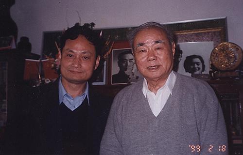 8金良浚与中央组织部秘书长沙洪